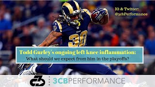 Todd Gurley's left knee inflammation: What to expect from him in the playoffs