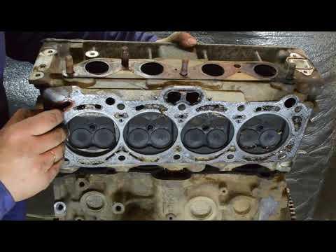 Разбор двигателя 4A-FE toyota