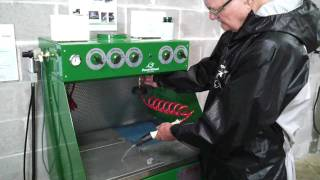 E800A Waterborne Spray Gun Cleaner Workstation – Features