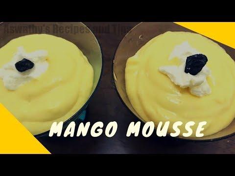 Delicious Mango Mousse Recipe  | മാങ്ങ കൊണ്ട് മൂസ് അഥവാ ക്രീം എങ്ങനെ ഉണ്ടാക്കാമെന്ന് നോക്കാം