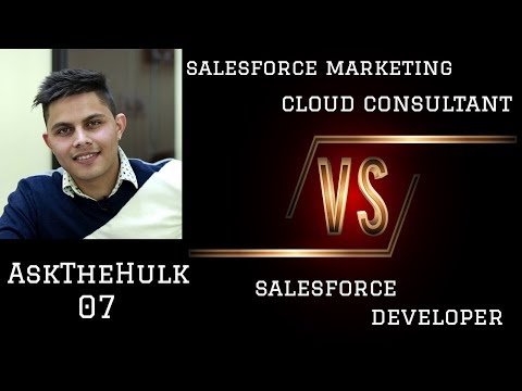 SALESFORCE MARKETING CLOUD CONSULTANT vs ... - YouTube