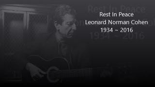 Leonard Cohen ~ Everybody Knows (Lyrics)