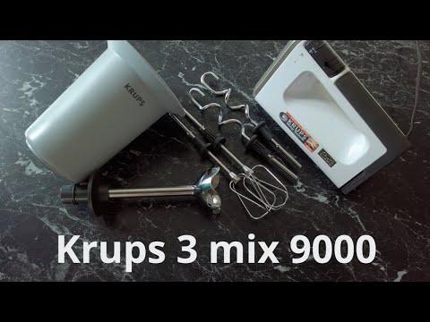 Der beste Handmixer 2018 | Krups 3 Mix 9000