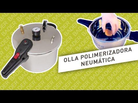 Olla polimerizadora neumática BADER®