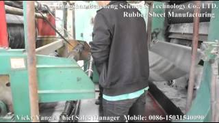 preview picture of video 'rubber sheet manufacturing'