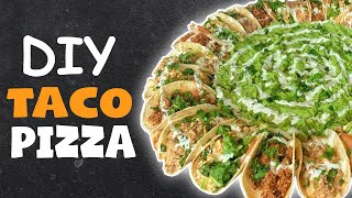 We highly recommend that everybody do this.  RULES TO GET FEATURED!! Go to your nearest Qdoba - https://www.qdoba.com/locations Take a picture of your food TAG US  @HeLLthyJunkFood & @Qdoba on FB, IG & Twitter!!  FULL RECIPE DETAILS: http://www.hellthyjunkfood.com/taco-pizza/  Merchandise: http://bit.ly/HJFShop