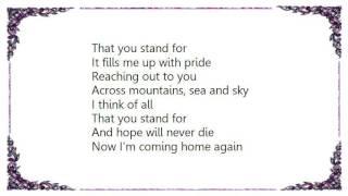 Judas Priest - Red White  Blue Lyrics