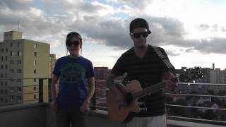 Aaron and Alexa Oswald 1234 (Plain White Ts Cover)