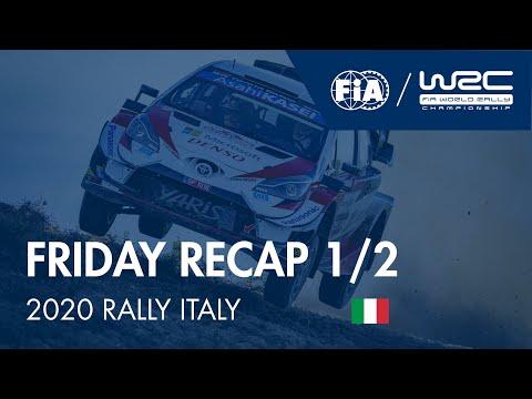 WRC ラリー・イタリア・サルディニア 金曜日に行われたラリーダイジェスト動画1