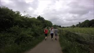 Exeter Riverside paths video strava link strava.com/activities/612612072