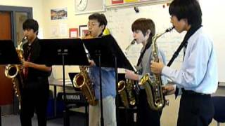 The Kings of Ragtime - 2/13/10 Solo & Ensemble Contest