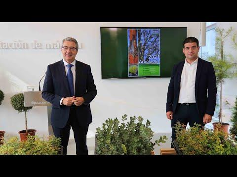 """Presentación de las arboladas en Antequera, Alpandeire y Ardales en el marco del Plan """"Un millón de árboles"""" de la Diputación de Málaga"""