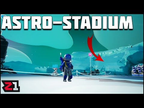 Astro League Stadium Building! Astroneer Gameplay | Z1 Gaming