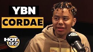 Ebro In The Morning - YBN Cordae Names His Top 5 Rappers + Opens Up On Relationship w/ Naomi Osaka & Working w/ Dr. Dre