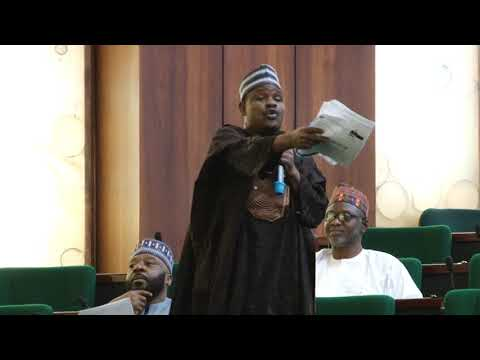 Hon Mohammed Kazaure Gudaji,28 Nov 2018   Motion on need to reform Nigerias tertiary educatinal syst