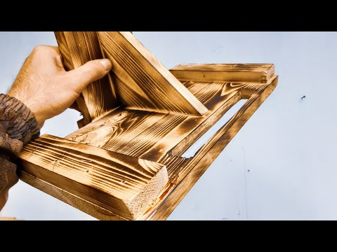 Download Cool idea! Don't throw away pieces of wood! The dream of every man! This is not to buy in the store! Mp4 HD Video and MP3