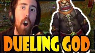Asmongold DUELS TIGERPANDA & Is the Dueling GOD