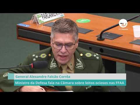 Comissão ouve ministro da Defesa sobre leitos ociosos nas FFAA - 13/05/21