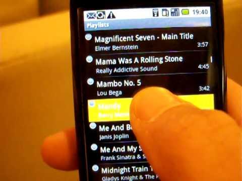 Video of Playlist Alarm