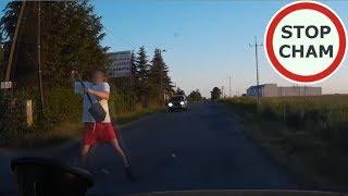Atak szpadlem na kierowce w Ustowie #88 Wasze Filmy