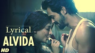 D Day Alvida Full Song With Lyrics | Rishi Kapoor, Irrfan Khan