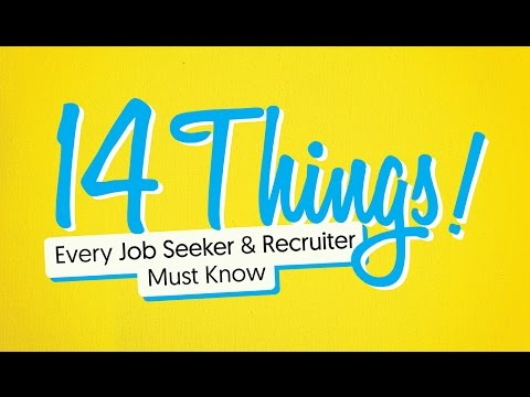 14 Things Every Job Seeker and Recruiter Must Know Visual - photography skills resume
