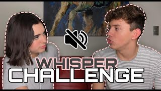 WHISPER CHALLENGE. Ft. Ilika Cruz