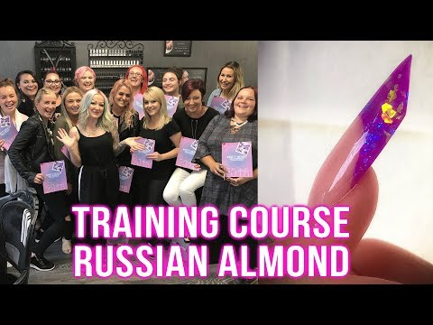 HOW TO SCULPT A RUSSIAN ALMOND - TRAINING COURSE TUTORIAL