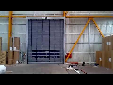 High Speed PVC Fold Up Doors