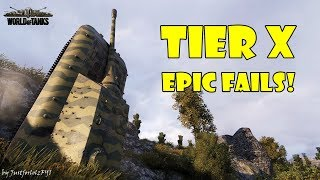 World of Tanks - Funny Moments | TIER X FAILS!