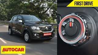 Renault Kwid AMT | First Drive | Autocar India