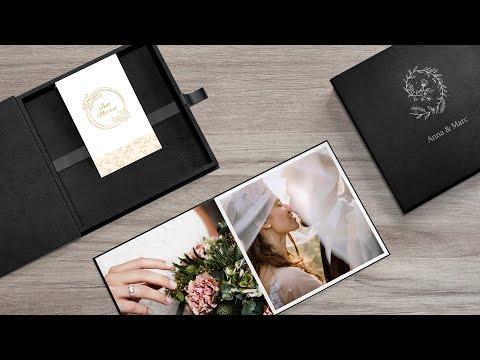 Un regalo único y personal: Wedding box