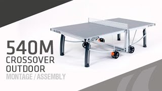 Montage table de ping-pong Cornilleau 540M Crossover outdoor
