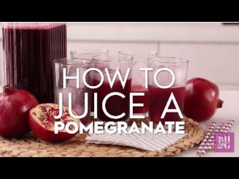 How to Juice Pomegranates | Basics | Better Homes & Gardens
