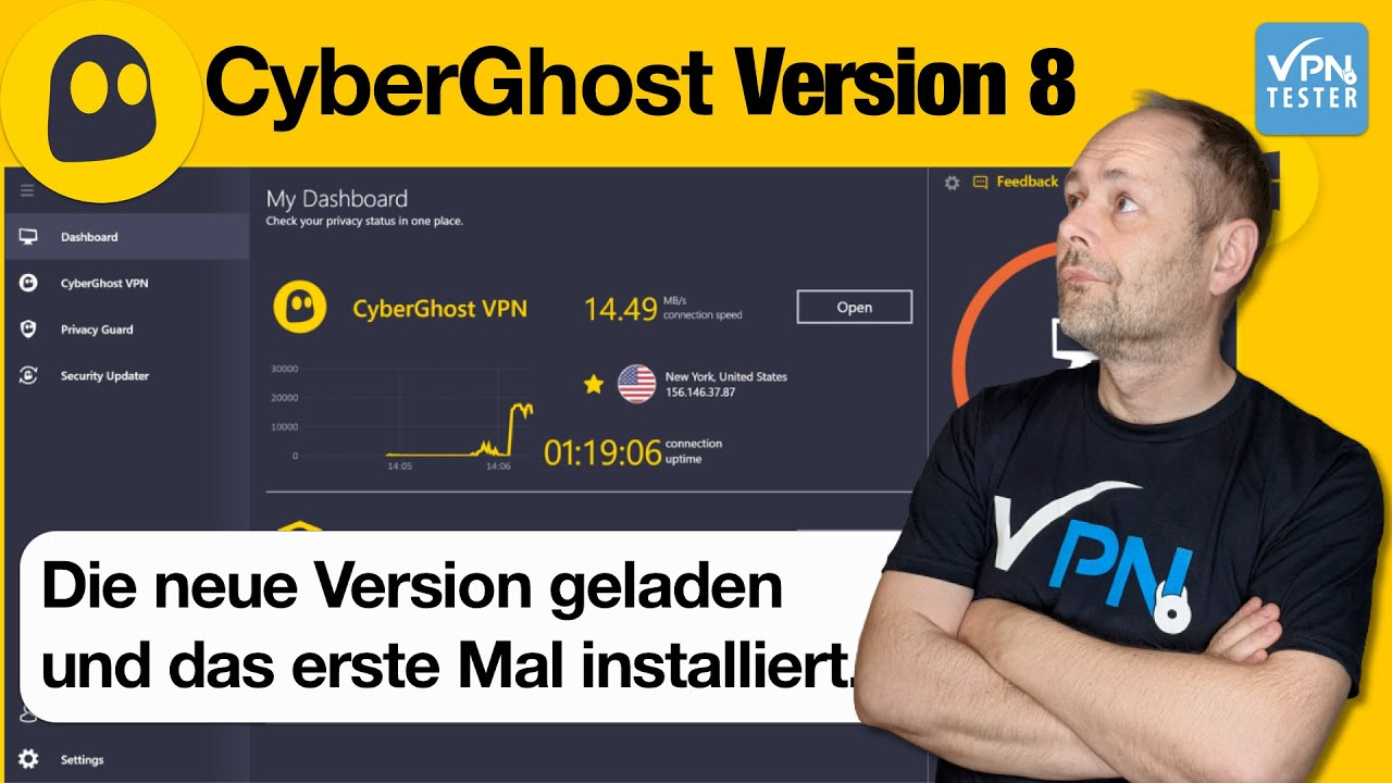 CyberGhost 8 Test: Was bringt die neue Version? (mit VIDEO) 2