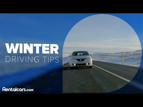 Winter Driving Tips From Rentalcars.com
