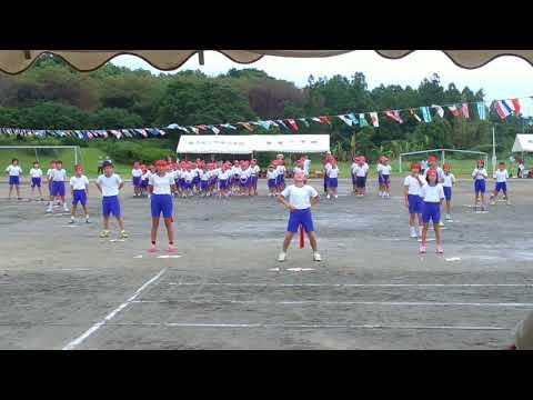 屋久島町立安房小学校 赤組 応援団 2017
