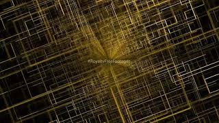 Golden Motion Background | digital background | technology background video | Royalty Free Footages