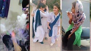 Sheeshe Ke Duniya Se Chala Bana Girls And  Boys TikTok |Lahore College Girls Boys