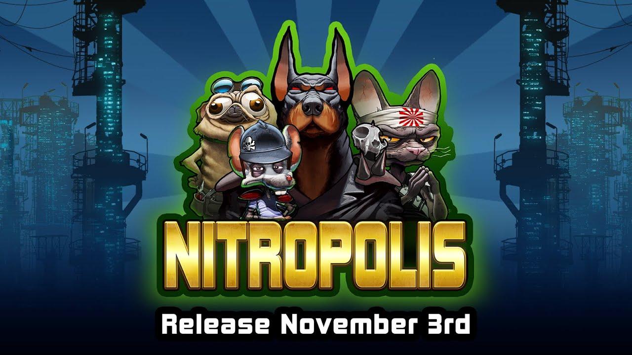 Nitropolis Teaser - Online Slot by ELK Studios