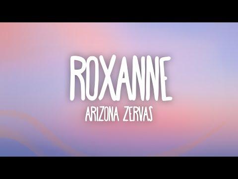 Arizona Zervas - ROXANNE (Lyrics) Rocksand