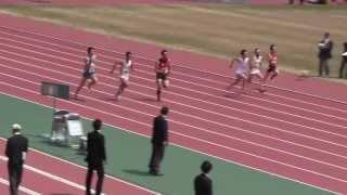 2013.4.14第2回記録会100m1組