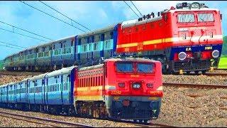 WAP-4/22332 Bolpur - Howrah Kaviguru Express