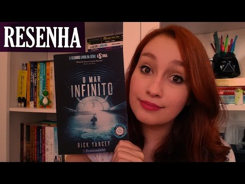 Mar Infinito - Rick Yancey | Resenhando Sonhos