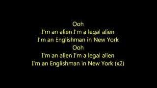Englishman in New-York Cris Cab/Tefa/Moox/Willy William Lyrics Video