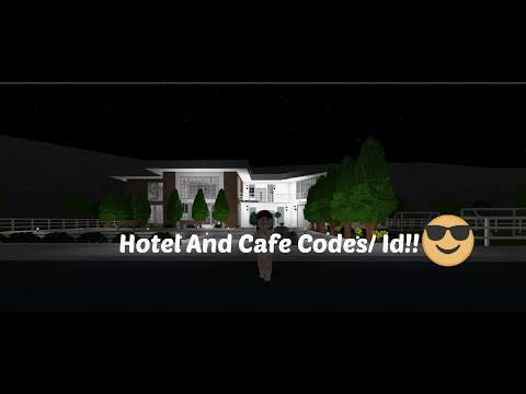 Welcome to Bloxburg : Hotel and Cafe Decal Id/Codes!! | Saraplaysnow