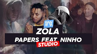 ©AWA -Zola x Ninho  - Papers (Séance studio)