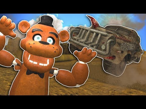 MAD MAX APOCALYPSE RACE! – Gmod Multiplayer Gameplay – Death Race Survival