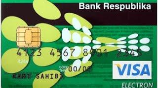 Plastik kartın online qeydiyyatı sifarişi banka getmədən  VISA (BANKRESPUBLIKA)