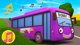 Wheels On The Bus Song | Trucks For Children | Gecko's Garage